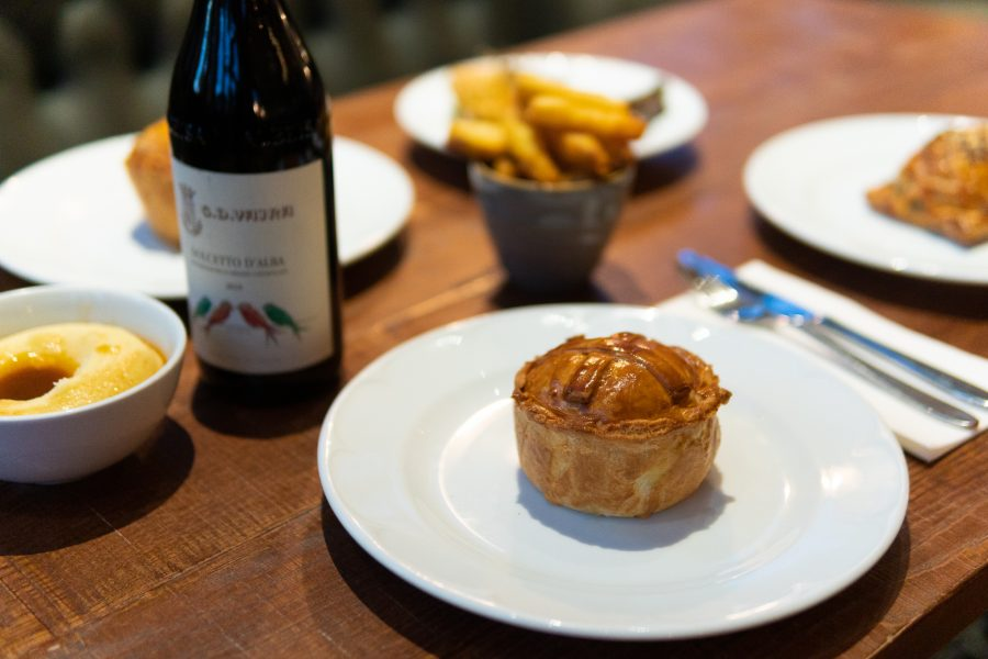 Takeaway pies